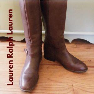 Lauren Ralph Lauren Marion Tall Boots - As Is